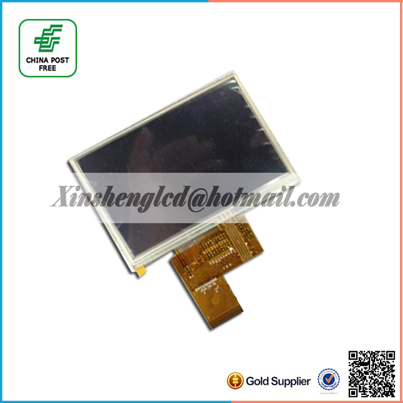 4.3 lcd display screen matrix FOR Prestigio Geovision 4300BT lcd display with touch panel Replacement Free Shipping