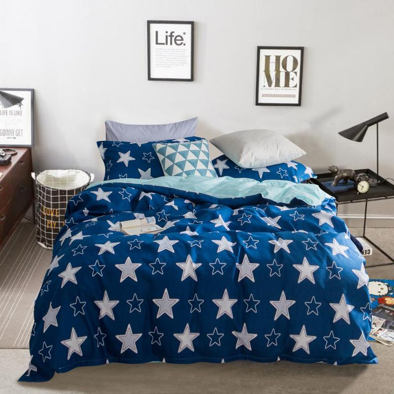 Bedding Sets 3/4pcs Geometric Pattern Bed sheet Duvet Cover Pillowcases Cover Set quilts and bed sets bed linen