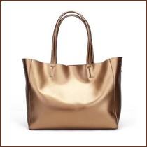 Women big shoulder bag genuine leather