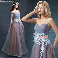 Hot Sale 2015 Korean Style Strapless Bride Evening Dress Formal Vestidos De Fiesta Mesh Legging Bandage
