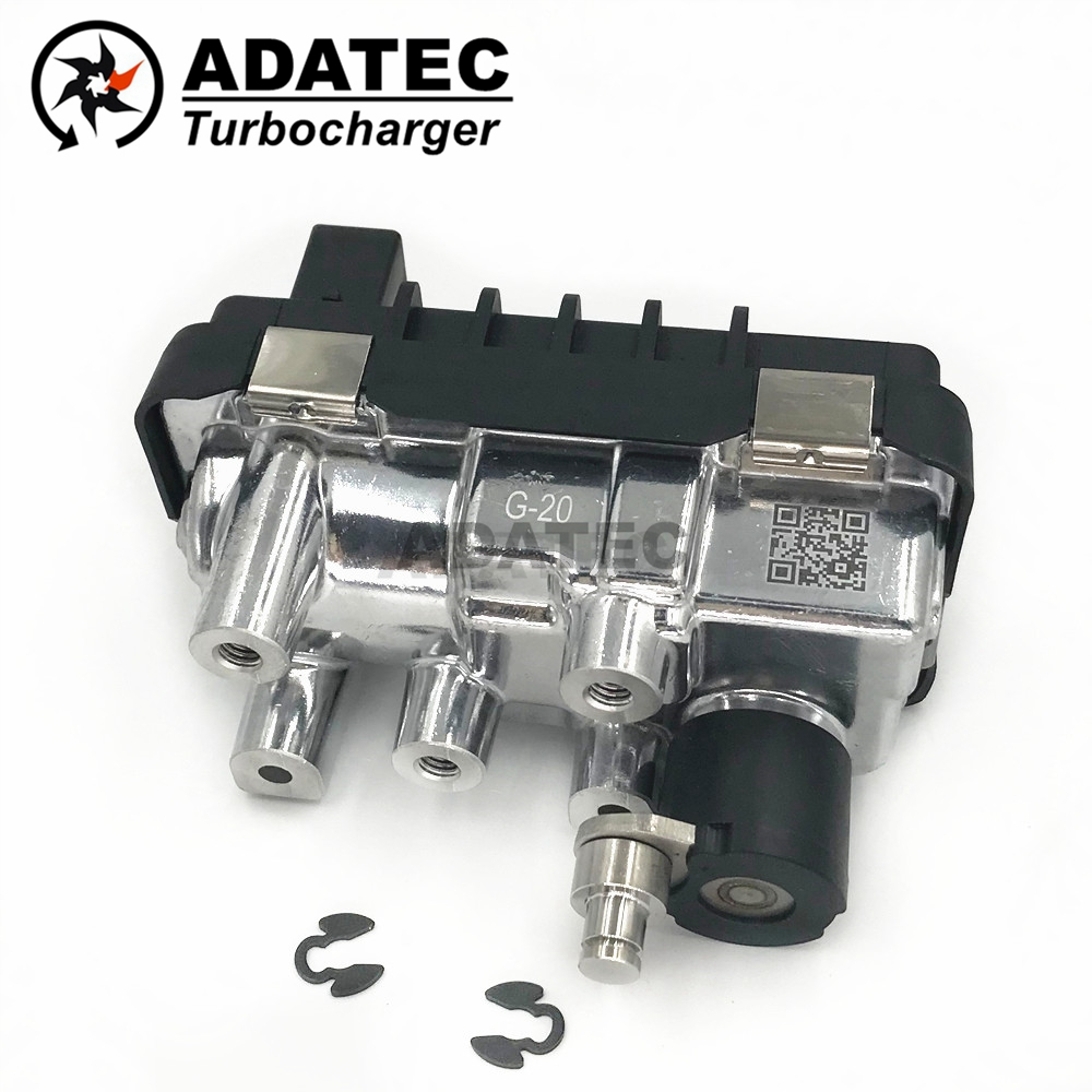 Garrett turbo Electric Actuator G 20 G 020 G20 turbocharger electronic wastegate 767649 6NW009550 for Audi