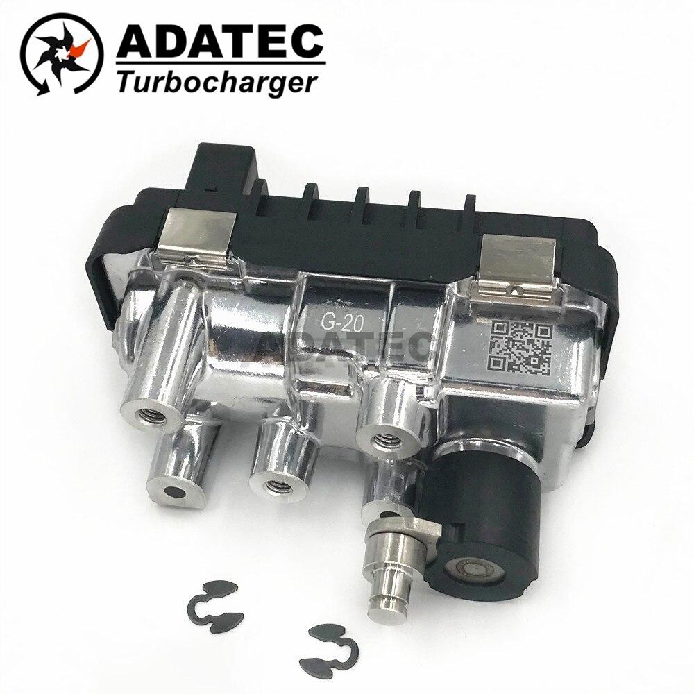 Garrett turbo actionneur électrique G-20 G-020 G20 turbocompresseur électronique poubelle 767649 6NW009550 pour Audi A6 3.0 TDI (C6) 240HP