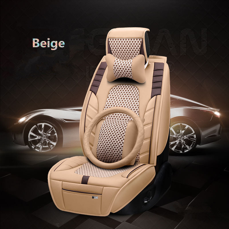 MagiDeal Heated Car Seat Chair Cushion Electric Heating Warmer Pad Cover Universal Driving Brown