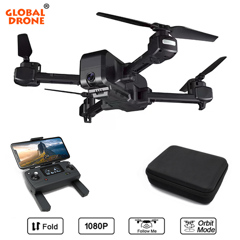 Global Drone GPS Quadrocopter Long Time Fly Foldable Drone Profissional Wifi FPV Dron Drones with Camera