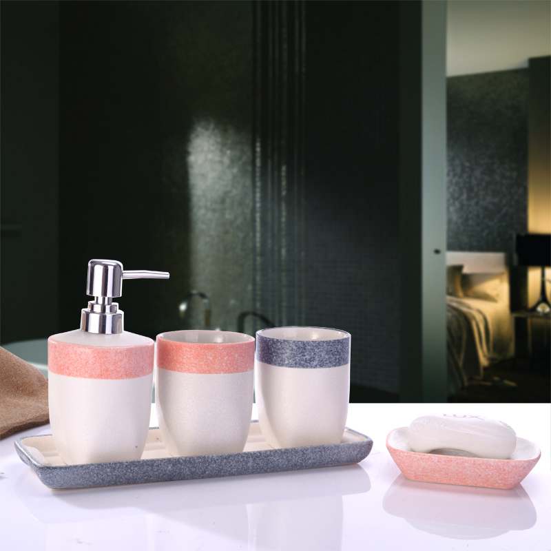 sale banheiro bathroom suite with a tray of five sets of highgrade ceramic wash gargle cup set wedding gift