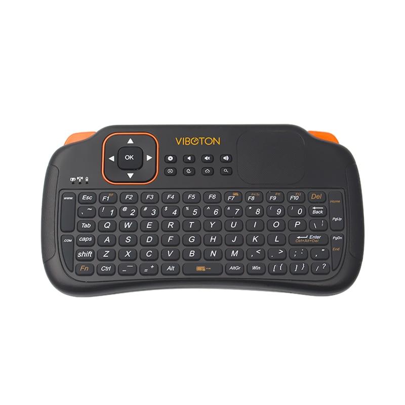 buy wireless mini keyboard 2 4g touchpad mouse raspberry pi 3 handheld keyboard. Black Bedroom Furniture Sets. Home Design Ideas