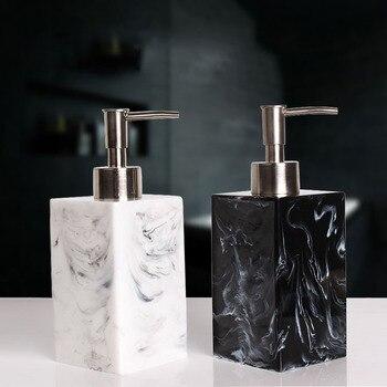 Exclusivo Hotel desinfectante de manos botella prensa creativa Gel de ducha champú botella vacía hogar emulsión
