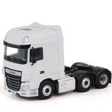 Коллекционная модель из сплава игрушка в подарок WSI 1:50 Масштаб WSI DAF XFSSC 6X2 грузовик трактор транспортных средств литая под давлением игрушка подарок, украшение