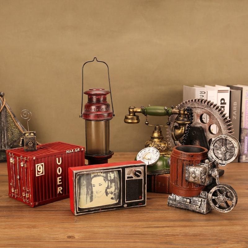 Home Decor Classic Camera Gear Refrigerator Tv Model Craft