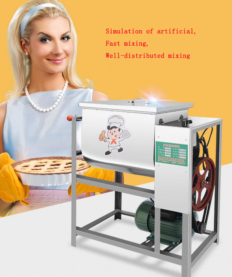 Commercial Automatic Dough Mixer 5kg,15kg,25kg Flour Mixer Stirring Mixer The pasta machine Dough kneading free shipping multifunctional dough blender commercial flour dough mixer home wheat flour mixer machine mixer machine