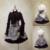 Gótica de Rayas Cintura Alta Falda por Mousita [adaptación personalizada disponible]