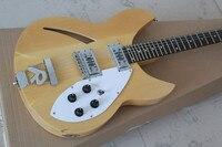 custom natural 2 & 3 pickups rickenback 360 hollow body 12 strings jazz electric guitar ricken guitar