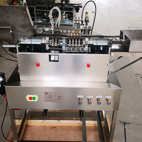 LSAG 2 Automatic Ampoule Bottle Sealing Machine Hot melt Tube Bottle Glass Bottle Filling Sealing Machine 1 2ml 220V/380V 550W