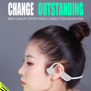 Image 3 - Bluetooth 5.0  Wireless Headphones Bone Conduction Earphone Outdoor Sport Headset with Microphone Handsfree Headsets