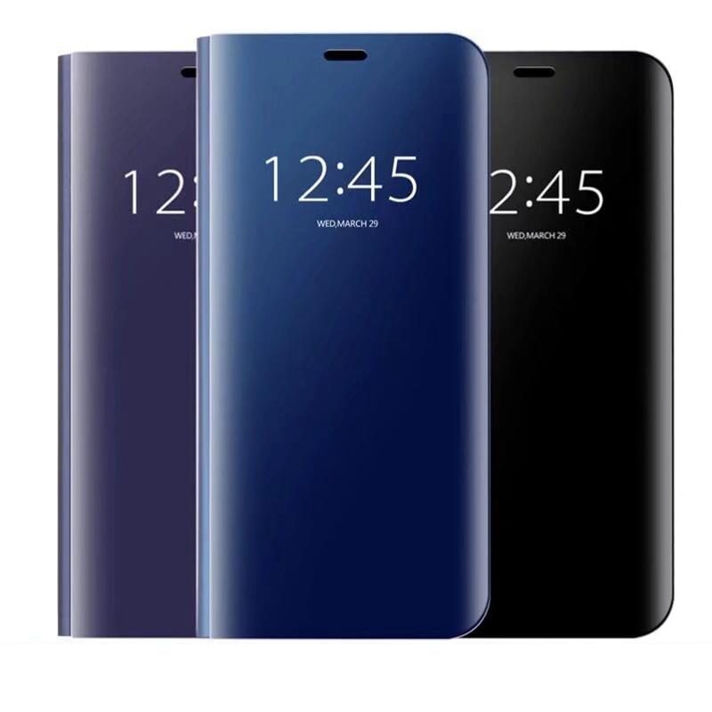 18:9 S9 Specchio 3D Cassa on per Samsung Galaxy S9 Plus Copertura Della Cassa Coque per Samsung S8 Più S7 S6 Bordo Nota 8 5 C8 ON5 ON7 2016 S9