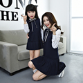 Fashion dress Mother daughter dresses Family matching clothes Mom Kids  Girl Family look Long Sleeve  Dresses outfit