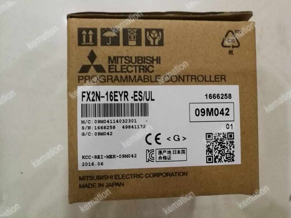 FX2N 16EYR ES UL PLC Module New in Box Programmable Controller FX2N 16EYR ESUL FX2N16EYRESUL FX2N