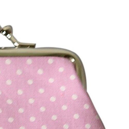 Wholesale 5* ( Popular Cute girls Wallet Clutch Change Purse key/coins bag Mini Handbag Pouch Pink