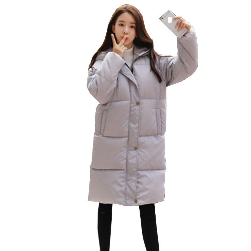 Taille Femmes Parka Plus Nouvelles Noir Feminina Outwear Capuchon Dames Femme 2xl À D'hiver Jaqueta gris Nw592 La Veste Manteau 2018 Épaississent Coton Chaud P5xzP