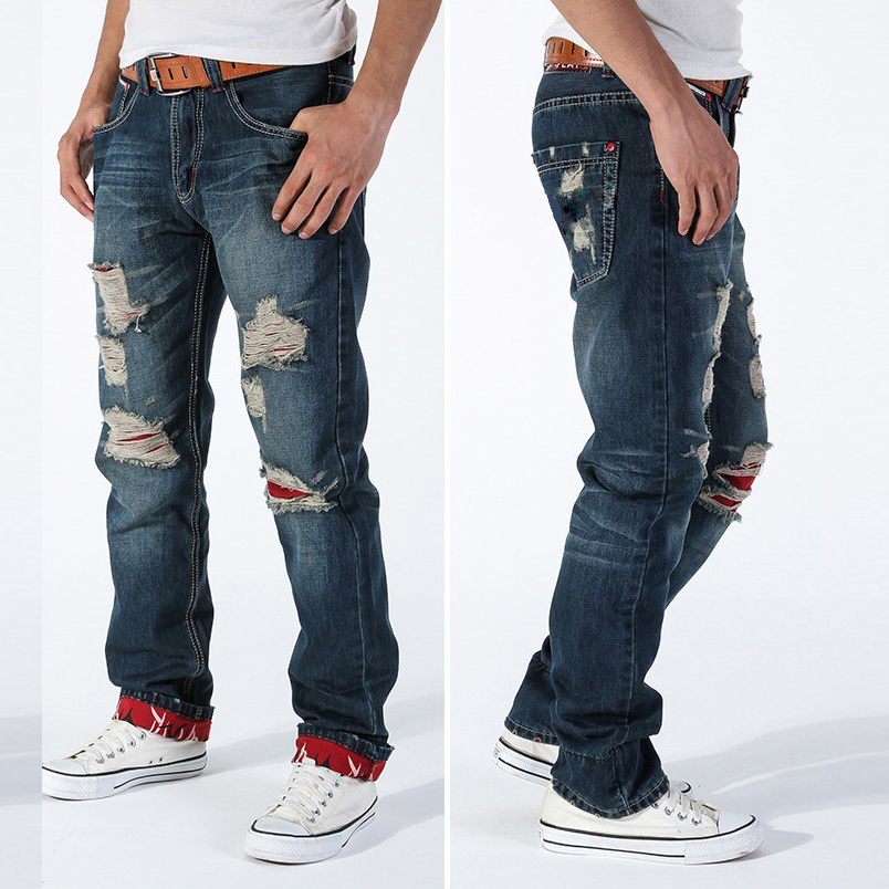 Mens designer ripped jeans – Global fashion jeans collection