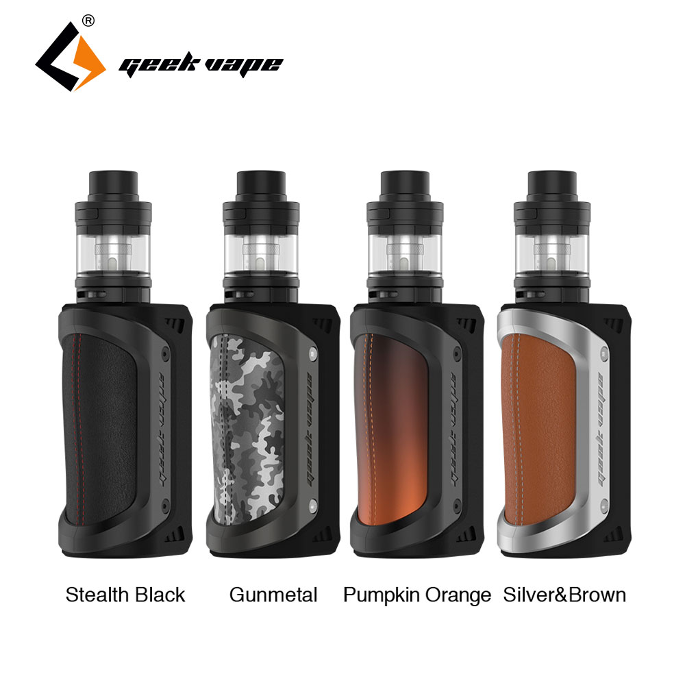 Original GeekVape Aegis 100W TC Kit with 4.5ml Shield Tank Max 100W Output No 18650 Battery Huge Power Aegis Kit E-cig Vape Kit original ijoy saber 100 20700 vw kit max 100w saber 100 kit with diamond subohm tank 5 5ml