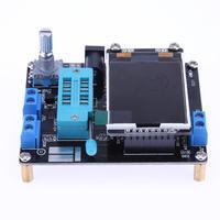 2017 GM328A Digital Transistor Tester Diode Capacitance ESR Meter Voltage Frequency Meter Wave LCD Screen