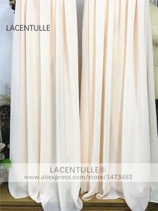 Image 5 - שרוולים קפלים ארוך שושבינה שמלה אלגנטי מקיר לקיר אורך פורמליות אירוע תחרות שמלה