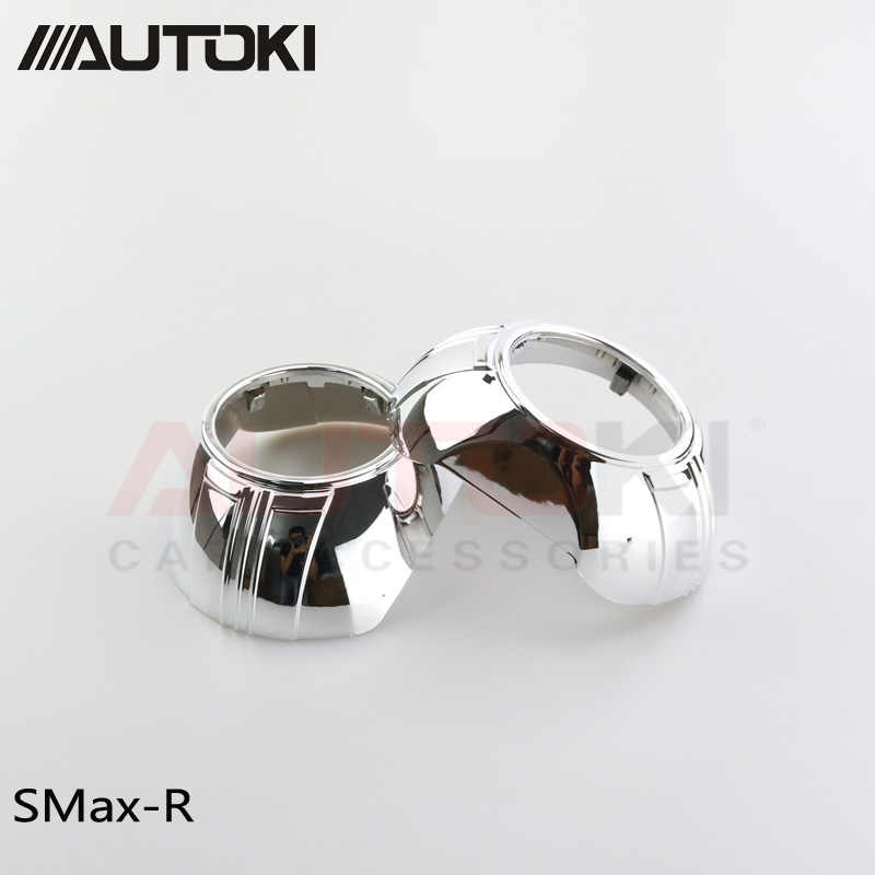 3 polegadas escondeu lente do projetor SMAX casos Capa Protetora resistente de alta temperatura para 3 polegadas Q5 Koito lente do projetor hella
