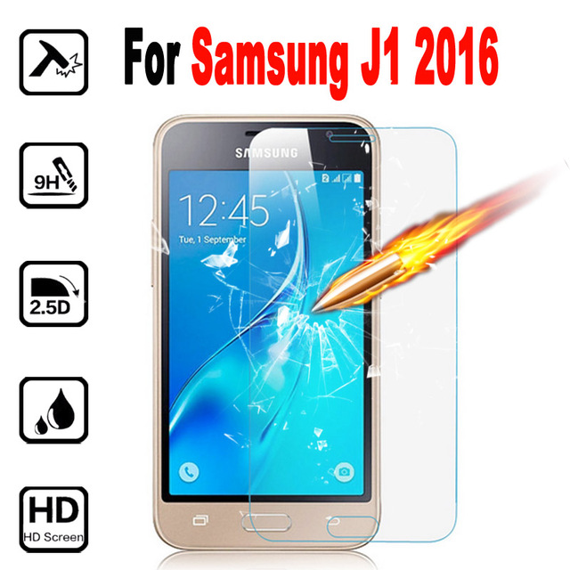 Screen Protector Tempered Glass For Samsung Galaxy J1 J120F 2016 SM-J120F Protective Film Mobile Phone for Samsung J 120F Glass