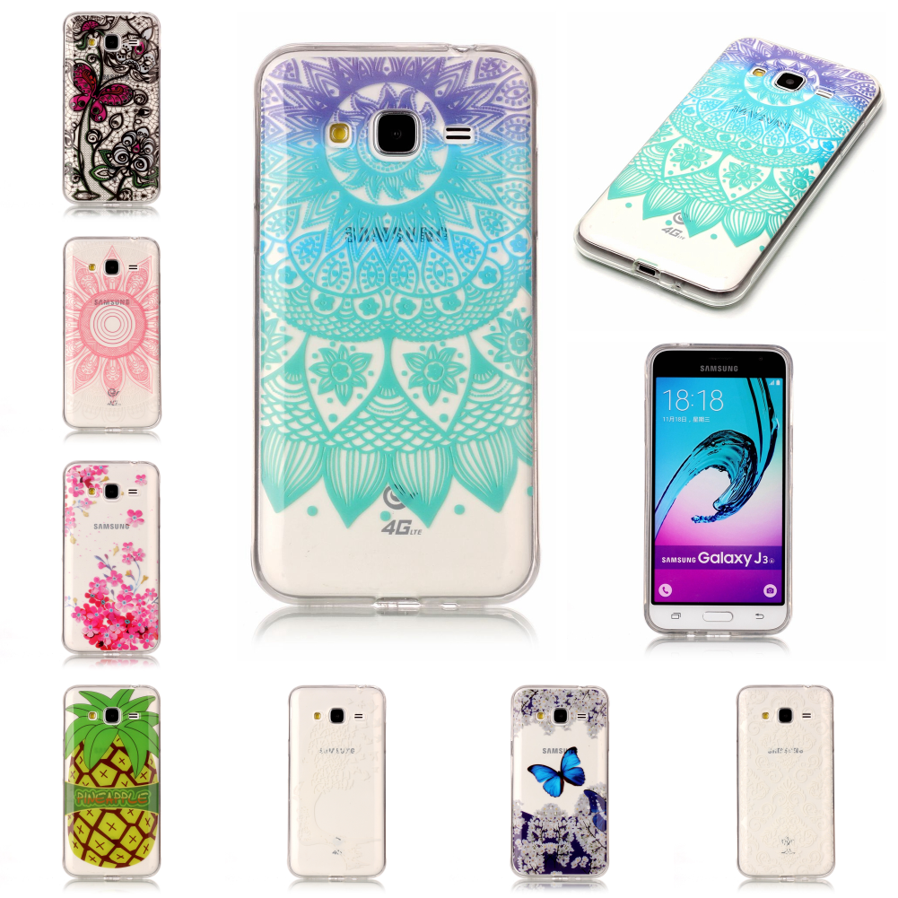 Pretty Cheap Best Thin Soft Ultra TPU Silicone Etui Carcasa Case Fundas Cover For Sansung Samsun Galaxy J3 2016