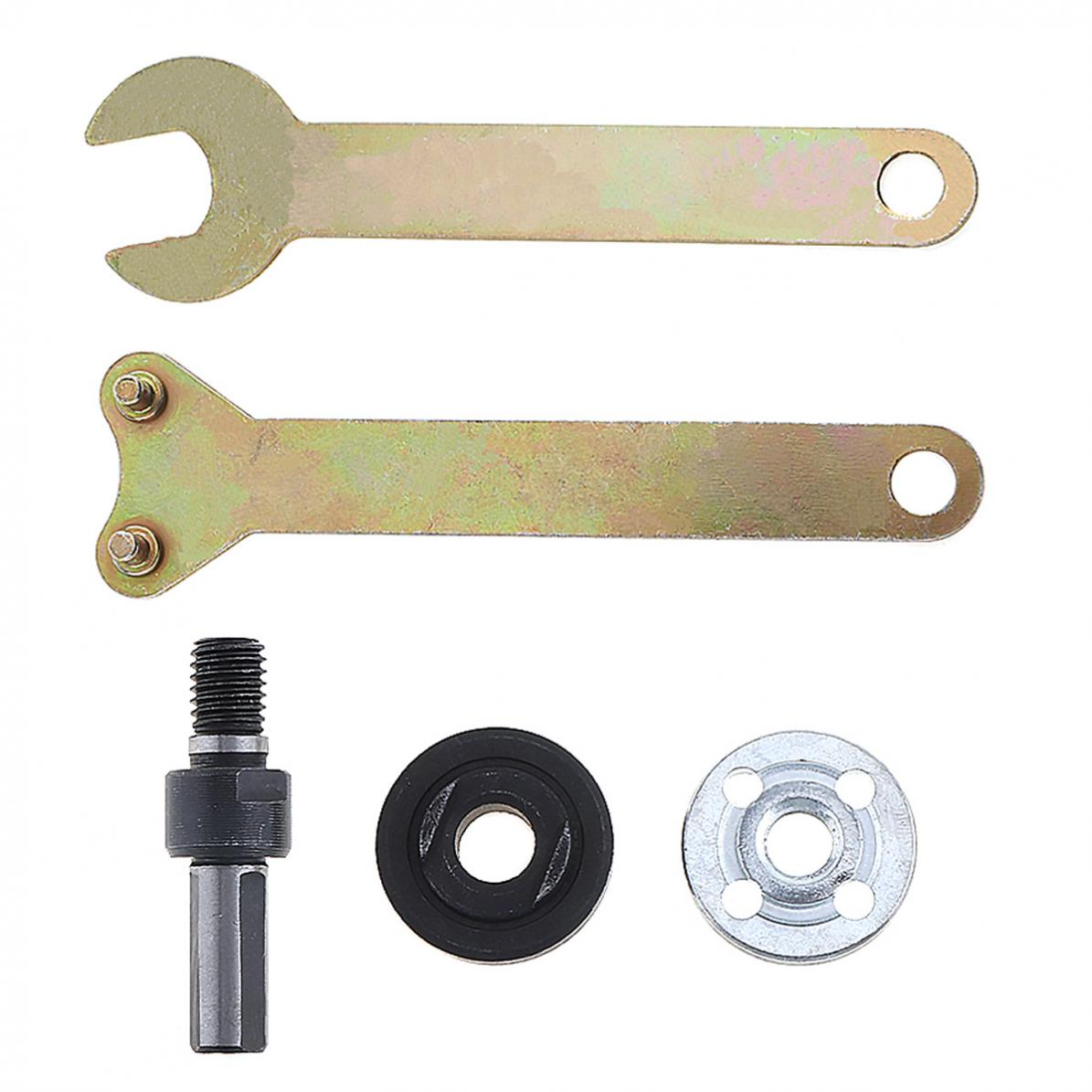 5pcs/pcs Angle Grinder Accessories With Connecting Rod And Small Wrench For Conversion Angle Grinding Tool Accessories