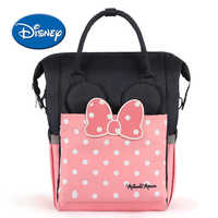 Disney Maternity Diaper Bag USB Heating Heat Preservation Nappy Backpack Large Capacity Toddler Nursing Travel Backpack