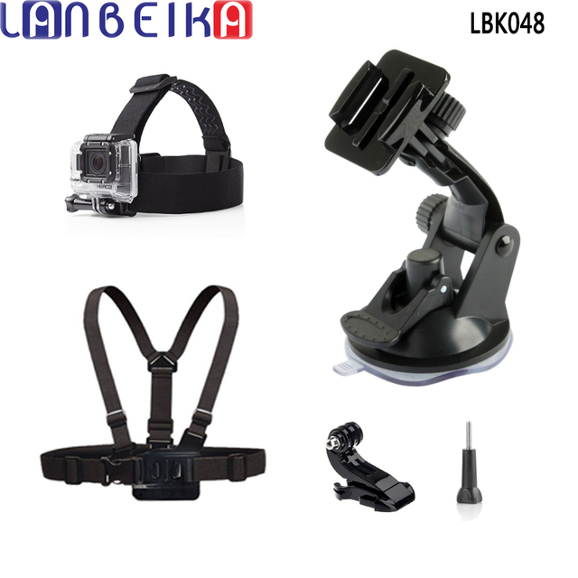 Lanbeika Head Harness Strap Chest Strap Suction Cup For -5079
