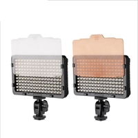 176 LEDs Photographic Lighting Video Light On Camera Hot Shoe Dimmable LED Lamp For Canon