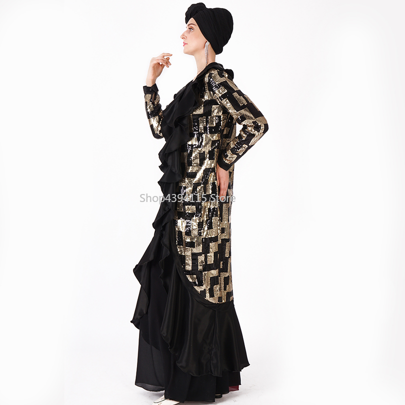 Muslim Dress Abaya Islamic Clothing For Women Malaysia Jilbab Djellaba Robe Musulmane Turkish Baju Kimono Kaftan Tunic