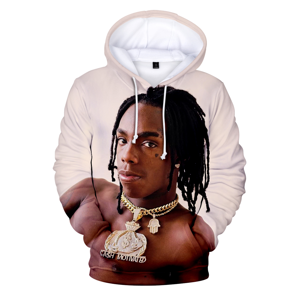 Fashion 3D printed YNW Melly Hoodies sweatshirts Men/Women Harajuku 3D  Hoodies Autumn handsome mens and boys 3D Hoodies pullover