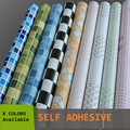 5Meters Roll Self adhesive mosaic wallpaper peel&stick oil/waterproof PVC vinyl tile wall paper for kitchen bathroom window/wall