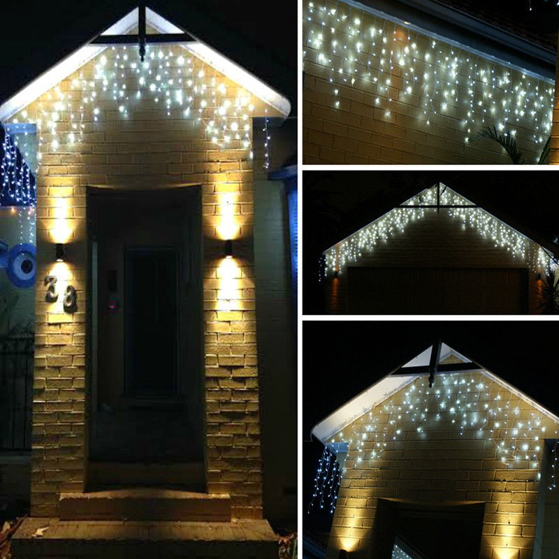 216LED 5m Window Curtain String Lights Icicle Fairy Lights Party Wedding  Home Patio Lawn Garden Decorations In Holiday Lighting From Lights U0026  Lighting On ...
