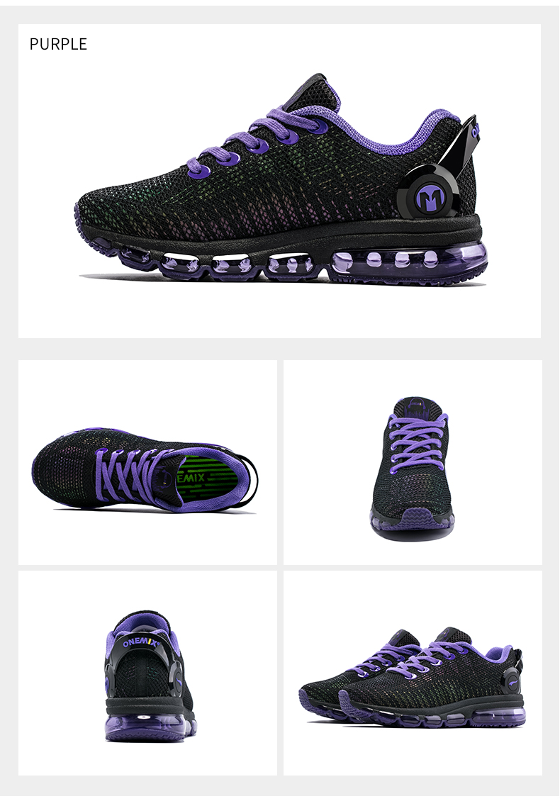 Onemix Running Reflective Mesh Men's Sports Shoes