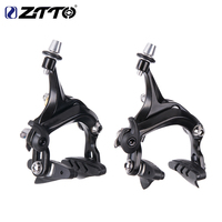 ZTTO 1 Set Bicycle Brake Racing Road Bike Dual Pivot Brake Aluminum Side Pull Caliper Brake