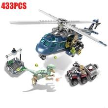 Jurassic Dinosaur World Figures Tyrannosaurs Rex Building Blocks Compatible With Legoings Park Toys For Children