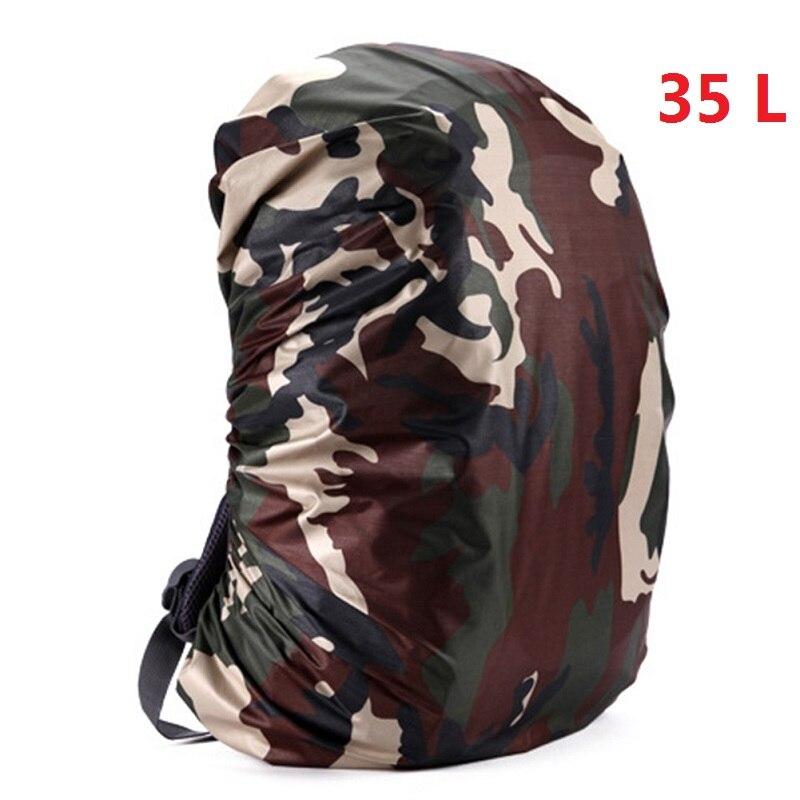 Mount Chain 35/45 л регулируемый водонепроницаемый рюкзак с защитой от пыли дождевик Портативный Сверхлегкий плечо защиты Открытый Инструменты для пешего туризма - Цвет: 35 liters 4