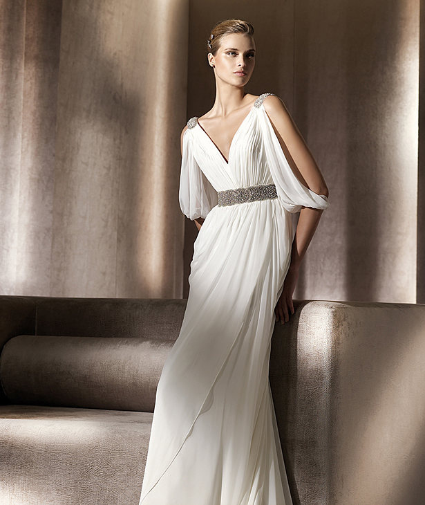 Popular grecian style dresses buy cheap grecian style for Greece style wedding dresses