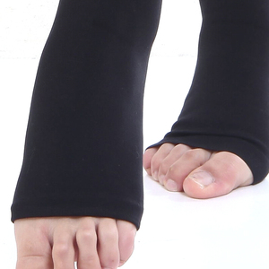 Image 2 - Collants opaques Extra fermes taille haute chaussettes collants de Compression 30 40 mmHg soutien médical gradué varices, DVT, voyage