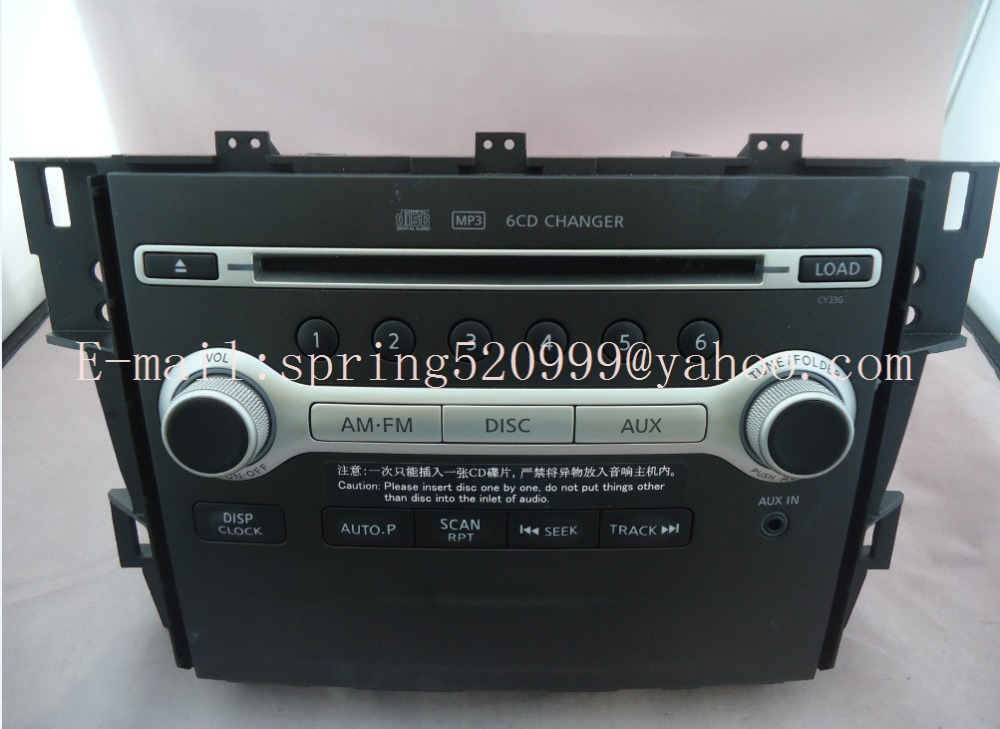 brand new tenna clarion 6 cd changer car radio mp3 aux. Black Bedroom Furniture Sets. Home Design Ideas