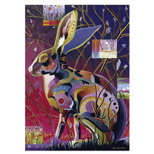DIY diamond painting Cartoon rabbit full embroidery colorful Mosaic cross stitch home decor