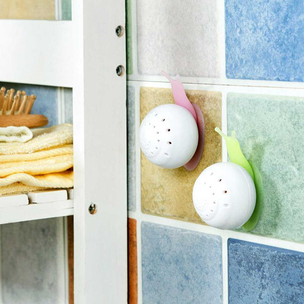 Houseware Air Freshener Perfume Snail Shaped Cute Solid Air Freshener Suction Cup Wardrobe For Home Bathroom