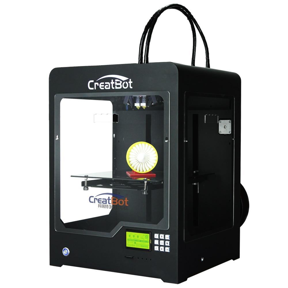 300*250*300 Mm Dual Extruder CreatBot 3D Printer DX02