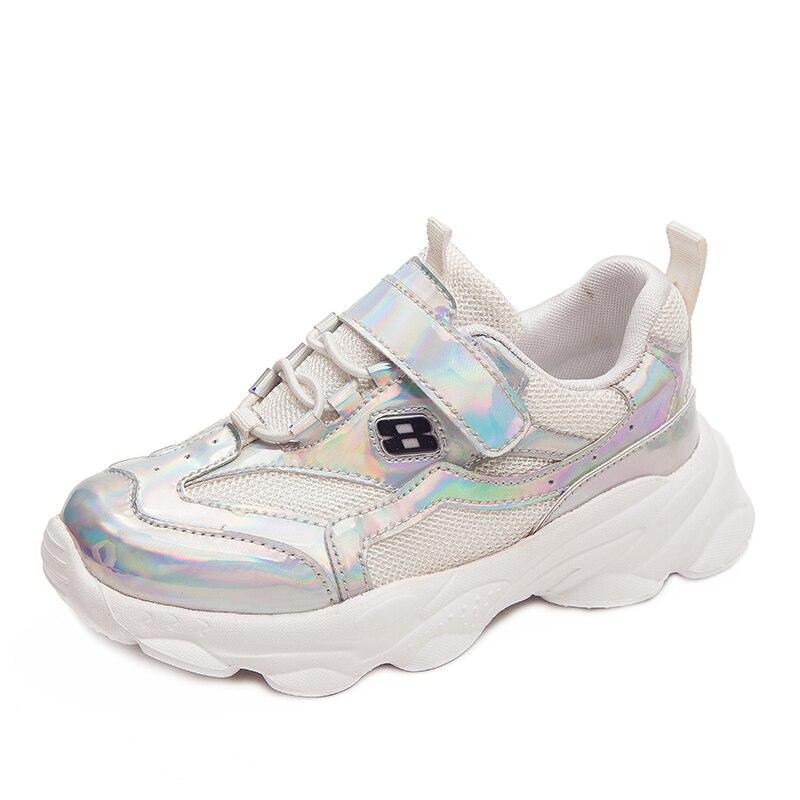 SKHEK Autumn Kid Sneakers Running Shoes Children Sport Boy Basket Footwear Lightweight Breathable Casual Girl