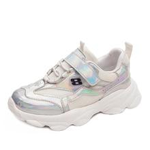 SKHEK Autumn Kid Sneakers Kid Running Shoes Children Sport Shoes Boy Basket Footwear Lightweight Breathable Casual Girl Shoes недорого